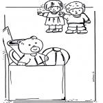Детские раскраски - Раскраска с игрушками 2