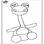 Детские раскраски - Раскраска с игрушками 3