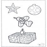 Рождественские раскраски - Рождественские - украшения 2