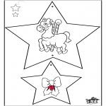 Рождественские раскраски - Рождественские украшения 3