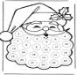 Рождественский календарь Дед Мороз