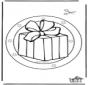 рождество - Подвеска на окно 5
