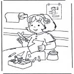 Детские раскраски - Рукоделие