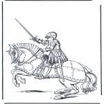 Разнообразные - Рыцарь на лошади