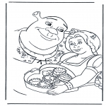 Персонажи комиксов - Шрек 2
