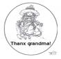 Спасибо бабушка