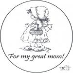 Рукоделие - Спасибо мать