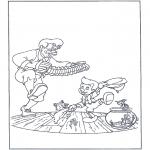 Персонажи комиксов - Танцующий Пиноккио