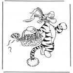 Персонажи комиксов - Тигра - Пасхальный Заяц
