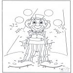 Рукоделие - Точка за точкой - Клоун 2