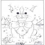 Рукоделие - Точка за точкой - Кошка 1