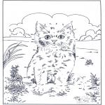 Рукоделие - Точка за точкой - Кошка 2