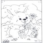Рукоделие - Точка за точкой - Кролики 1