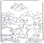 Рукоделие - Точка за точкой - Кролики 3