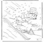 Точка за точкой Лыжи