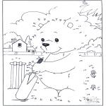 Рукоделие - Точка за точкой - медведь 3