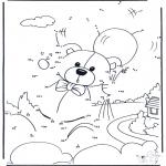 Рукоделие - Точка за точкой - медведь 4
