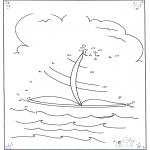 Рукоделие - Точка за точкой - Парусное судно