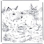 Рукоделие - Точка за точкой - ры́жая лиси́ца