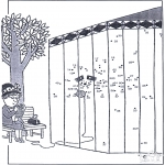 Рукоделие - Точка за точкой - зоопарк 8