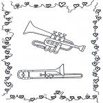 Разнообразные - Труба и тромбон