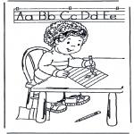 Детские раскраски - Учимся писать