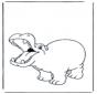 Веселый бегемот