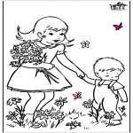 Разнообразные - Весенние цветы 2
