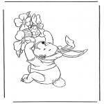 Персонажи комиксов - Винни Пух - Пасхальный Заяц