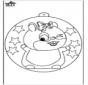 Ёлочный шар - Хомяки