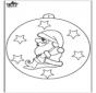 Ёлочный шар - Санта-Клаус 2