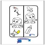 Рукоделие - Закладка для книг - детка
