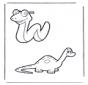 Змея и дино
